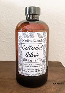 10PPM Colloidal Silver - 8oz - Small Batch