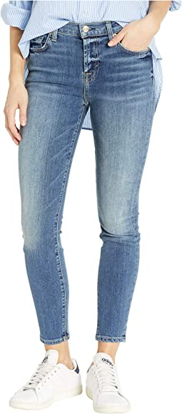 High-Waisted Ankle Skinny in Authentic Medium