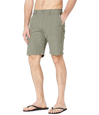 Quiksilver Union Heather Amphibian 20 Shorts (Thyme) Men
