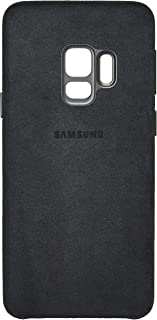 Capa Protetora para Celular Alcantara Galaxy S9, Samsung, Preta
