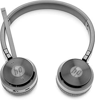 HP W3K09AA#ABB UC Wireless Duo Headset (Black)