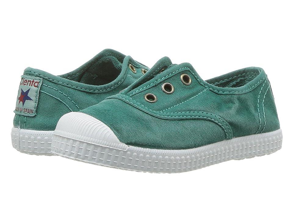 Cienta Kids Shoes 70777 (Toddler/Little Kid/Big Kid) (Washed Green) Kid