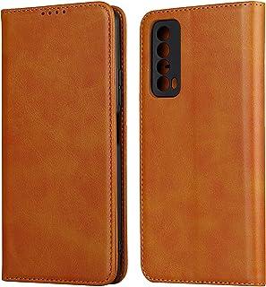 Flip Case Cover för Huawei P Smart 2021 (Khaki)