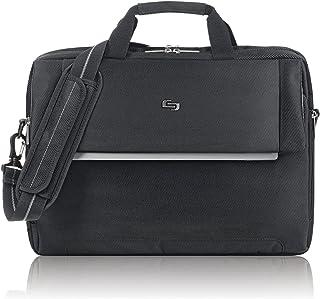 Solo Chrysler 17.3 Inch Laptop Briefcase, Black
