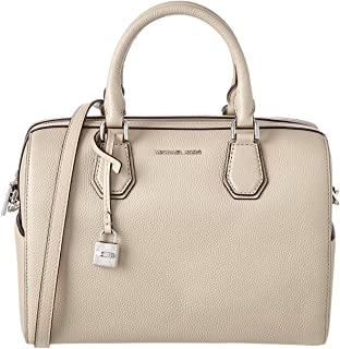 Michael Michael Kors Mercer Leather Medium Duffle, Grey