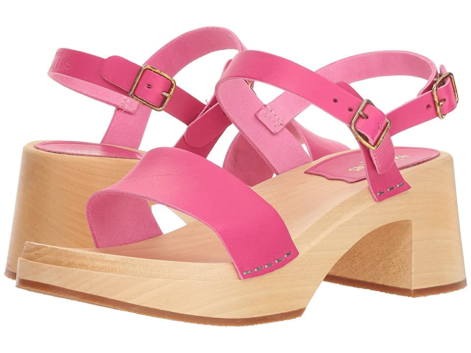 Swedish Hasbeens Gittan (Neon Pink) Women