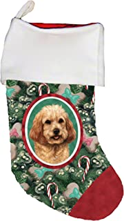 cockapoo christmas stocking