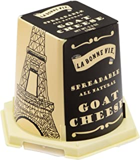 La Bonne Vie Imported French Goat Cheese Pyramid, 5.29 oz