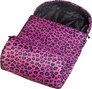 pink leopard sleeping bag