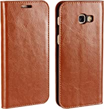 Samsung Galaxy A3 2017 Wallet Case, Jaorty Premium Leather Folio Flip Case Cover Book Design with Kickstand Feature with C...