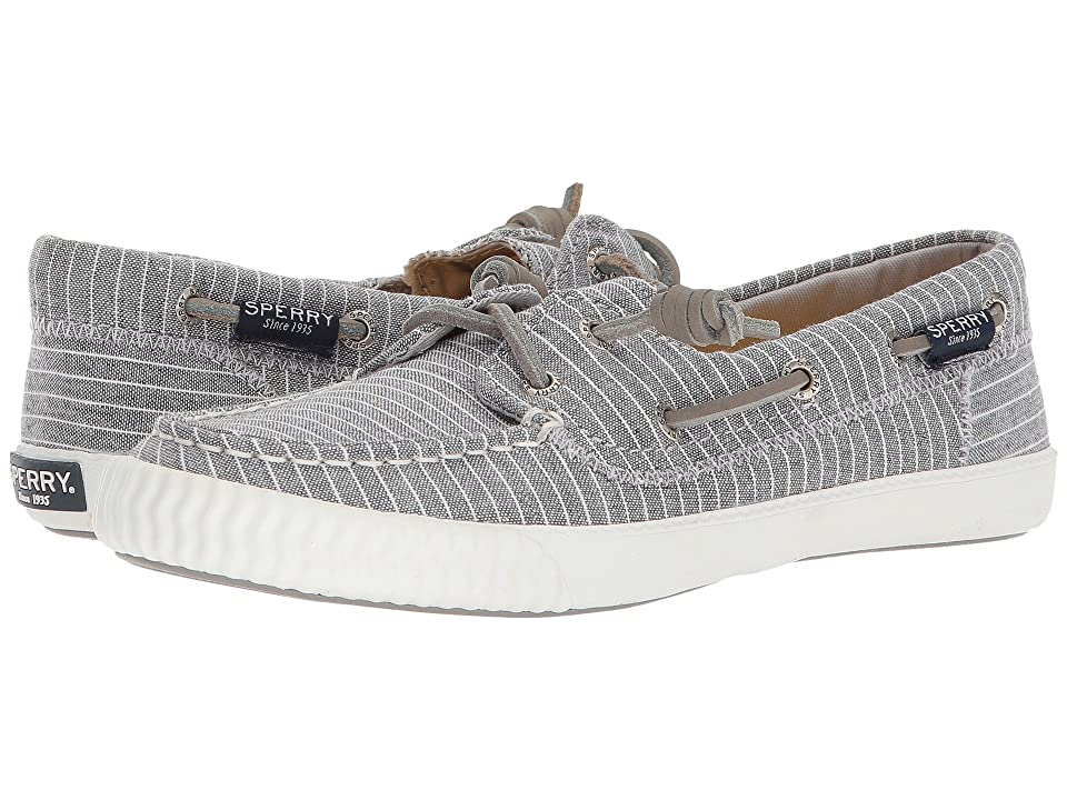 Sperry Sayel Away Pin Stripe (Grey/White) Women