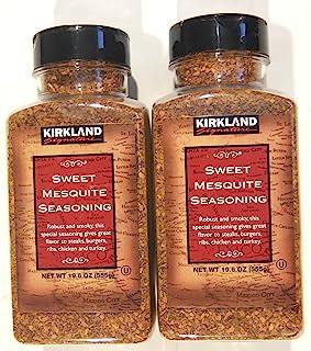 Kirkland Signature Sweet Mesquite Seasoning 19.6 Ounce (Pack of 2)