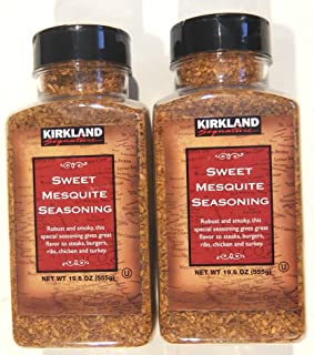 Kirkland Signature Sweet Mesquite Seasoning 19.6 Ounce (Pack of 2)
