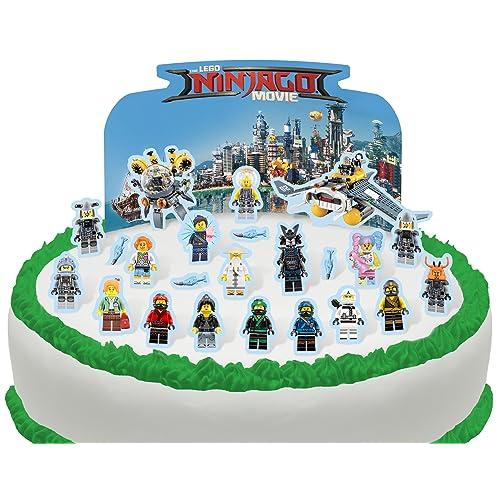 Incredible Ninjago Cake Decorations Amazon Com Funny Birthday Cards Online Inifofree Goldxyz