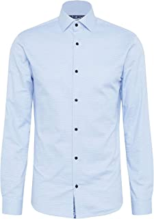 Jack & Jones Men's JPRBLAVIGGO DOBBY SHIRT L/S NOOS Shirts