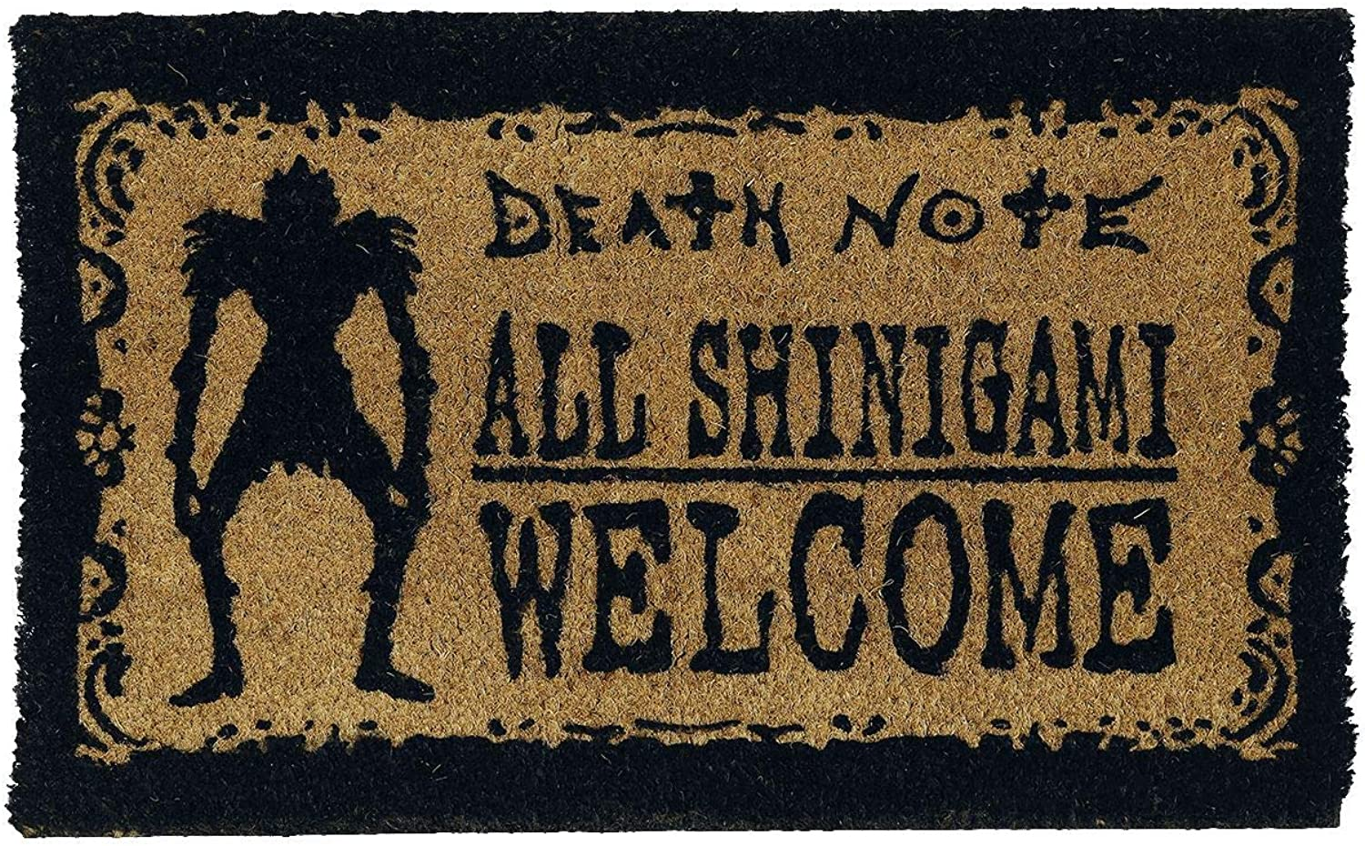 Pyramid International Death Note Doormat Shinigami Welcome 40 x 60 cm Tappeti