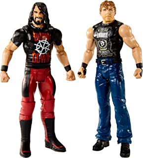 WWE Figure Series # 55 Dean Ambrose & Seth Rollins Action Figures, 2 Pack