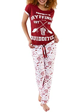 Harry Potter Womens Quidditch Pajamas