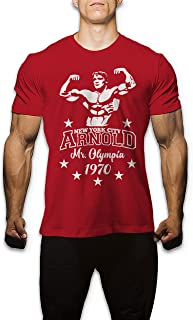 Arnold Schwarzenegger Mr. Olympia Bodybuilding Gym Workout Muscle T Shirt