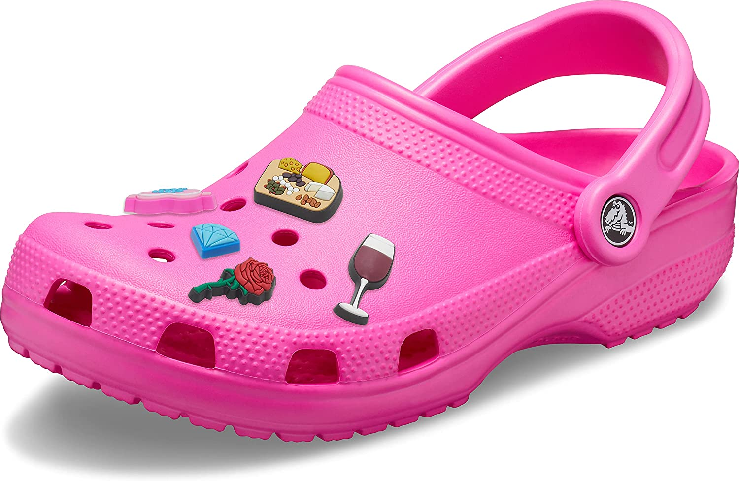 Crocs Mens and Womens Special Campaign Classic Boston Mall Clog w 5-Packs Jibbitz Charms for