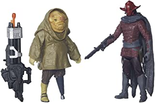 Star Wars The Force Awakens 3.75 Inch 2 Pack Sidon Ithano and First Mate Quiggold