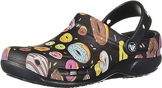Crocs Womens 204044-0I3 Bistro Graphic Clog Multi Size: