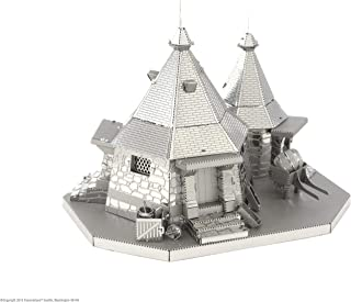 Professor PUZZLE-Harry Potter Kit de Modelo de cabaña de Metal Earth Hagrid, Color, Estándar MMS441
