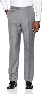 Amazon Brand - BUTTONED DOWN Men's Tailored Fit Super 110...