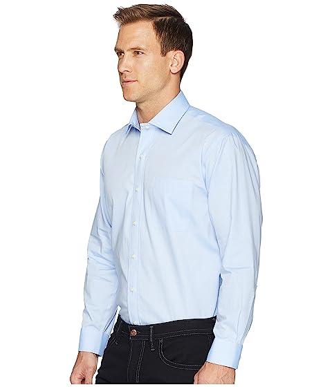 de vestir Camisa magnética inflexión de de Cuello azul Ready Magna extendido punto sólida ASaxBB