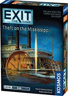 EXIT: Theft on The Mississippi | Escape Room Game in a Box| EXIT: The Game – A Kosmos Game | Family – Friendly, Card-Based...
