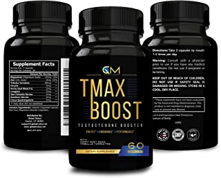 Testosterone Booster for Men - 60 Capsules-Stamina Strength Endurance-Multivitamin Supplement - Natural Male Enhancement Ultra Boost Performance-Fast Recovery Fat Burner-Gluten Free