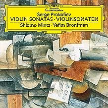 Prokofiev: Sonata for Violin and Piano No. 1 in F Minor - Sonata for Violin and Piano No. 2 in D