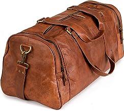 Berliner Bags Reisetasche Berliner Bags Bergen XL aus Leder Weekender Sporttasche Vintage Damen Herren Braun Groß 60 cm 45 Liter