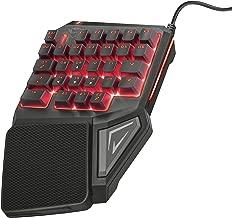 Trust Gaming GXT 888 Assa - Teclado, Color Negro