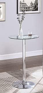 Coaster Bar Table, Chrome