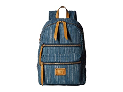 Frye Ivy Backpack (Denim) Backpack Bags