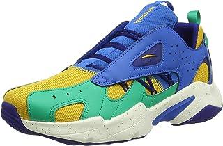 Reebok Royal Turbo Impulse 2 Textile Faux Leather Accent Color-Block Logo Tongue Unisex Lace-Up Sneakers