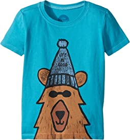 Life is Good Kids - Happy Bear Crusher Tee (Toddler)