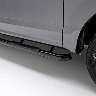 ARIES 214051 3-Inch Round Black Stainless Steel Nerf Bars Select Chevrolet Colorado, GMC Canyon