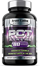 PCT Xtreme | 80 Capsules | Post Cycle Support & Natural Testosterone Booster | with an Exclusive Advanced Formula