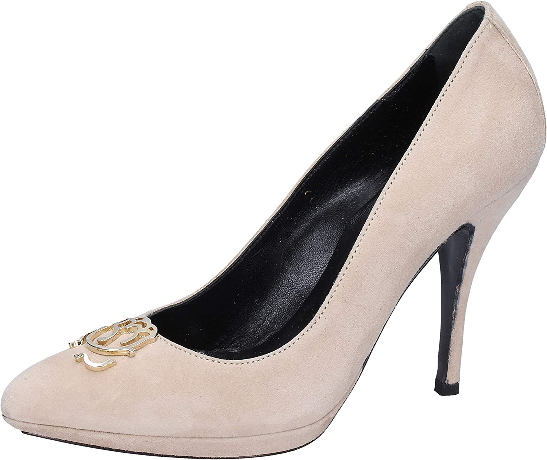 Braccialini Pumps-shoes Womens Suede Beige
