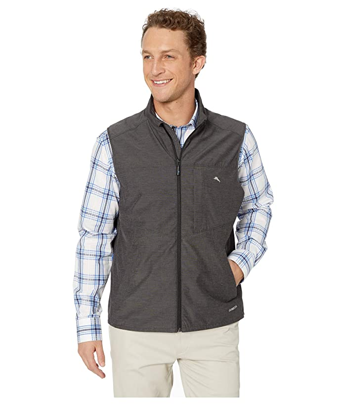 Tommy Bahama Chip and Run Vest (Charcoal) Men