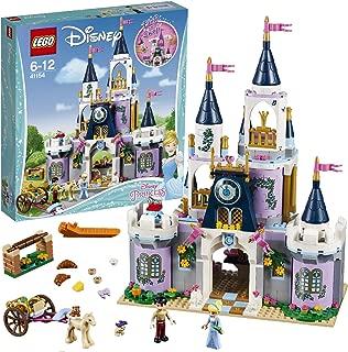 LEGO Princesas Disney - Castillo de Ensueño de Cenicienta, Juguete Creativo con Mini Muñecas y Figura de Caballo para Recrear las Escenas de la Película (41154)