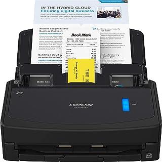 Fujitsu ScanSnap iX1400 Scanner de documentos simples de um toque para Mac e PC, preto