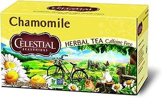 Celestial Seasonings Herbal Tea, Chamomile, 20 Count (Pack of 6)