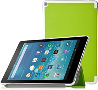 KuGi Fire HD 7 2017 case - Ultra Lightweight Slim Smart Cover Case for All-New Fire 7 Tablet with Alexa (7th Gen, 2017 Release) Tablet(Green)