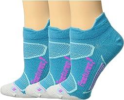 Feetures Elite Merino+ Ultra Light No Show Tab 3-Pair Pack