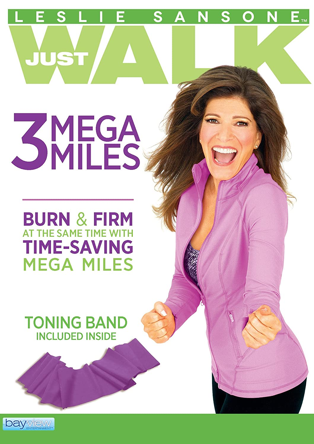 Leslie Sansone: 3 Max 56% OFF Mega miles - Max 51% OFF Toning Fitness Band Includes FREE
