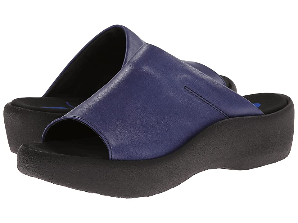Wolky Nassau (Steel Blue) Women