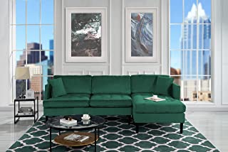 Velvet - Green Sofas & Couches | Furniture | Home & Kitchen : Amazon.com